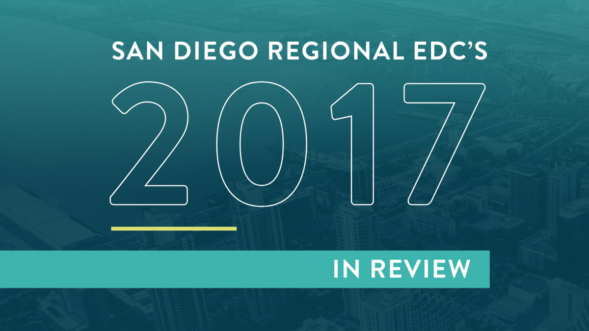 2017 Year in Review | San Diego Regional EDC